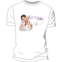 Remera Estampada Sublimada Violetta Frozen
