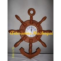 Reloj De Algarrobo. Varios Modelos!