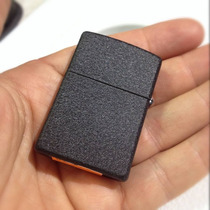 Encendedor Zippo Regular Black Cranckle Made In Usa 28098