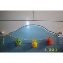 Colgantes Pollitos Tejidos Al Crochet P/ El Cuarto Del Bebe