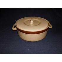 Olla De Ceramica Esmaltada Con Tapa