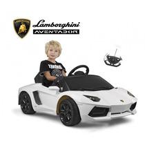 Auto Lamborghini Niños Bateria+c.remoto+luz+mp3 / Open-to