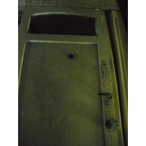 Puerta De Frente En Madera Macisa-