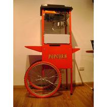 Pochoclera - Maquina De Pochoclos - Con Carro (mctec Srl)
