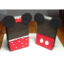 Bolsitas Artesanales Mickey Y Minnie