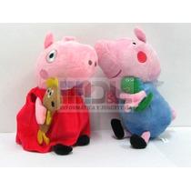 Peppa Pig 23 Cm Peluche La Cerdita George Pepa Pirata Envíos