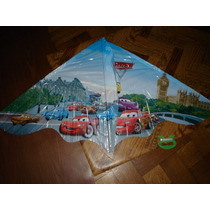 Barrilete Pequeño Cars 1,15m X 0,65m Animal Cometa