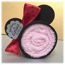 Minnie De Toalla Mickey Souvenir Bautismo Baby Shower