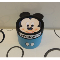 Mickey Bebe Souvenir Cajita Golosinera 8,5x 8,5. Baby Shower