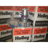 Bomba De Nafta Holley! Electrica Azul Con Regulador