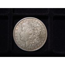 Estados Unidos Moneda Morgan Dolar Plata 900 1921s Unc 26.7g