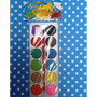 Acuarela 12 Colores Con Pincel Ezco Pack X 12 Unid