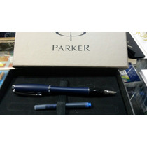 Lapicera Parker Urban Azul Pluma Oferta Hasta Agotar 5 Unid