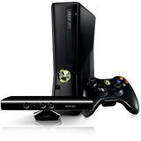 Xbox 360 Slim Flasheada-rgh 4gb+220v+c/kinect+sensor+pes 17