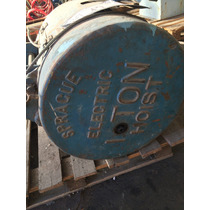 Aparejo Electrico 1tn Made In Usa C/gancho Envio Al Interior