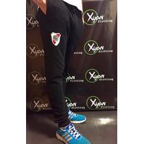 Pantalon Chupin Babucha River Plate Escudo