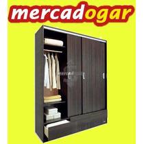 Placard Ropero 633 Platinum-puertas Corredizas.