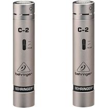 2 Microfonos Behringer C2 Condenser Cardioide Estudio Vivo
