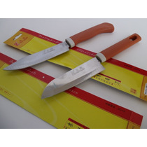 Cuchillos P/ Fruta O Verdura Excelente Filo Punta Cutter