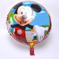 Set X 10 Globos Metalizados De Mickey 45 Cm