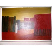 Pintura Oleo S/tela Original De Angel Fadul