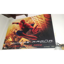 Poster Plastico Original De Cine Hombre Araña / Spiderman