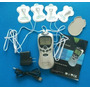 Electroestimulador 4 Electrodos 2 Canales 220v Portatil