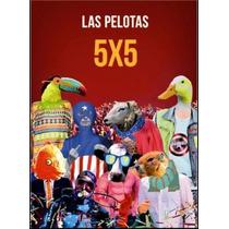 Las Pelotas 5x5 Formato Dvd + Cd ( Disponible 10/09/14 )