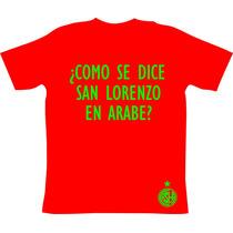 Remeras San Lorenzo Campeón Libertadores 2014 Marruecos !!!!