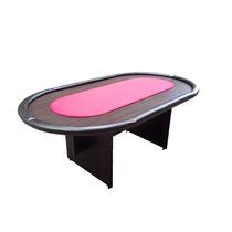 Mesa De Poker Oval - Paño Speed - Fábrica