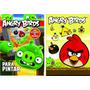 Angry Birds + Olivia Lote X 3 Nuevas Actividades Stickers