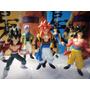 Dragon Ball Gt - Set De 6 Figuras -14 Cm. Goku Gogeta Trunks