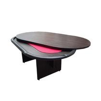 Mesa De Poker Oval Con Tapa Comedor - Paño Speed - Fábrica