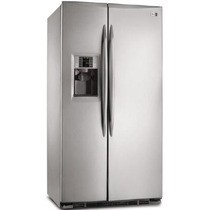 Heladera General Electric Pkps5 Inox 700lts Side By Side