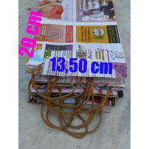 Lote 50 Bolsas Papel Revista Infantil Reciclado Cumpleaños