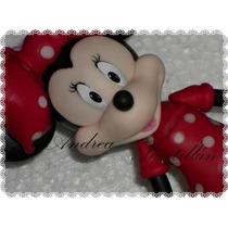Minnie Mouse ,mickey Mouse Porcelana Fria Adorno Para Torta