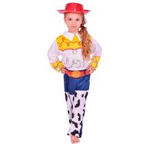 Disfraz Toy Story Vaquerita Jessie Completo! New Toys Jiujim