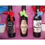 Botella Souvenir Vino Trapiche Cumpleaño Casamiento Botellas
