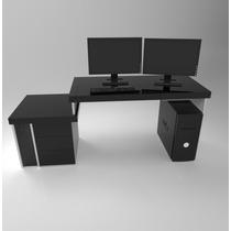 Escritorio pc gamer muebles para oficinas en mercado for Silla ordenador gamer