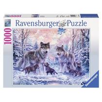 Rompecabezas Ravensburger De 1000 Piezas: Lobos Del Artico