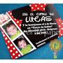 Mickey Minnie Invitaciones Cumpleaños Personalizada