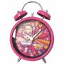 Despertador Metalico Con Campanitas Barbie Super Princesa