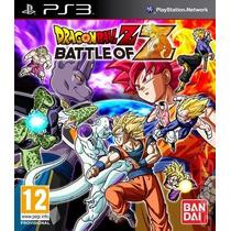 Dragon Ball Z Batlle Of Z + Extra Ps3 Oferta Tarjeta Digital