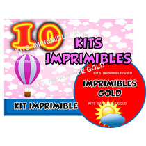 Combo 10 Kits Imprimibles Violetta Cars Kitty Angry Bird Más