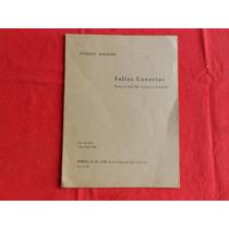 Joaquin Rodrigo / Folias Canarias / Canto Y Guitarra
