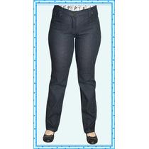 Jeans Rectos Elastizados, Talles Grandes Hasta Talle 64