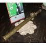 Antiguo Fumigador Bronce Tres Picos 70cm Impecable (4446)