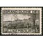 Luxemburgo Sello Usado Ciudad De Luxemburgo Año 1921