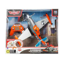 Disney Planes Cars Avion Dusty C/radio Control Envio Al Int