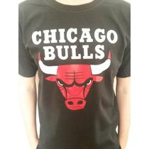 Remeras Chicago Bulls Basquet ! Jordan Basket Nba !
